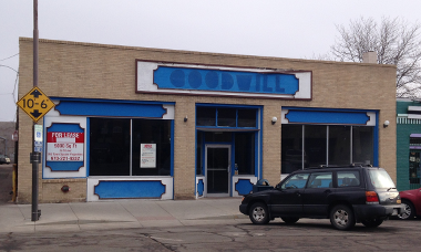 Vacant Goodwill building - Winter 2014