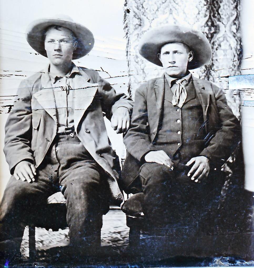 Jake Collamer (left) and Ben Flowers (Photo courtesy of Jim Burrill.)