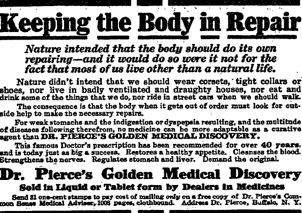 Changes in technology, like the introduction of the trolley, were having their affect upon people's health.