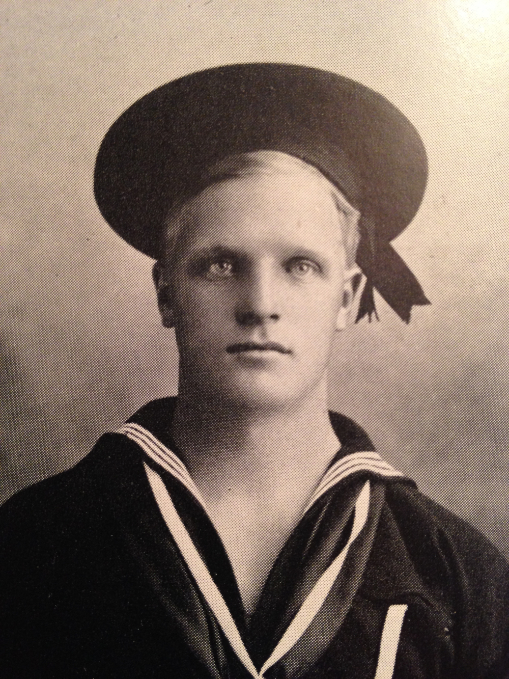 Hugo Evon Frey, the Navy man. (Photo from Hugo's Odyssey.)