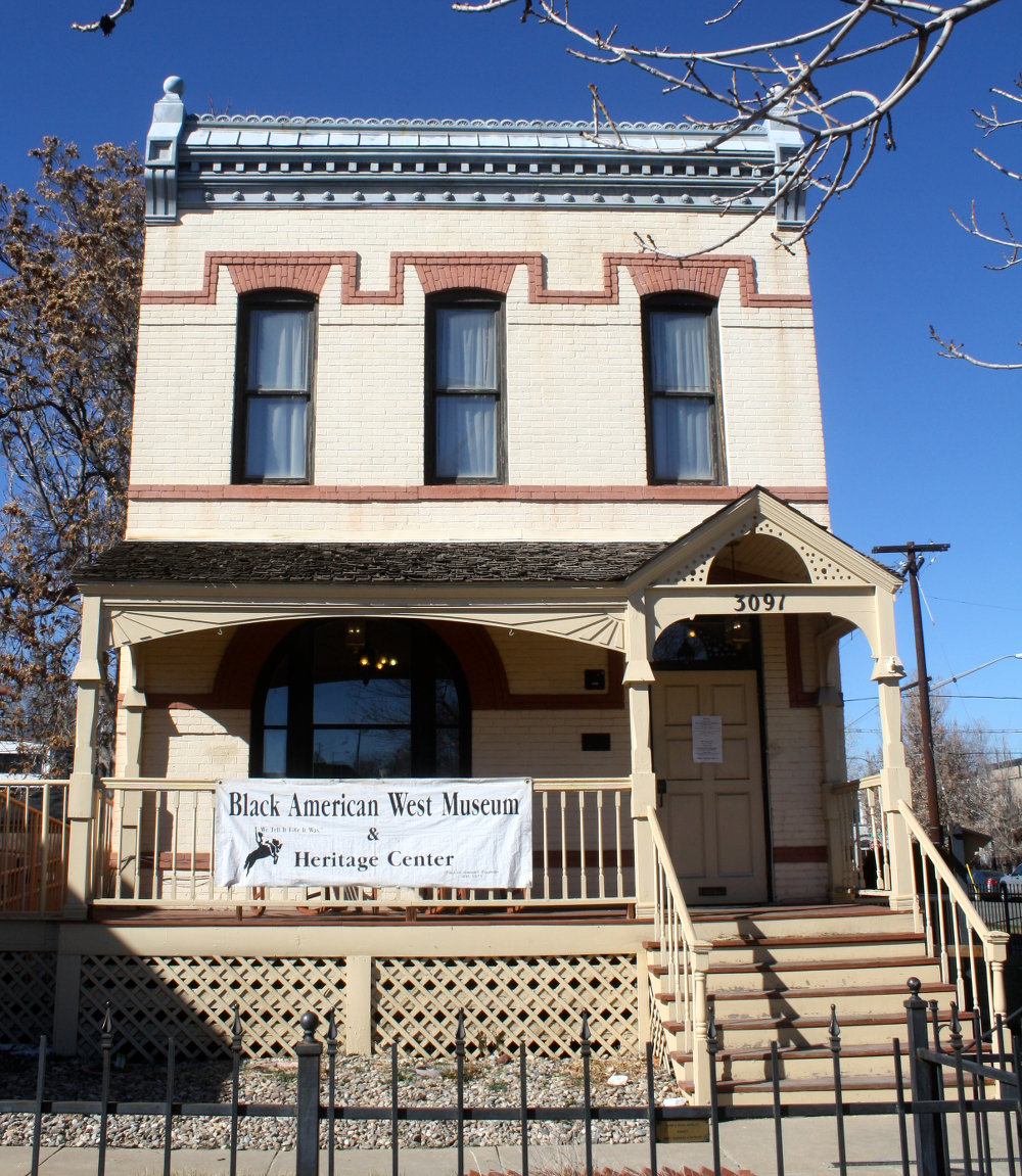 The Black Western History Museum today.