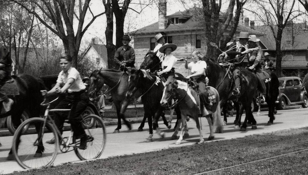 College Days Parade - 1939 (From the CSU Archive.)