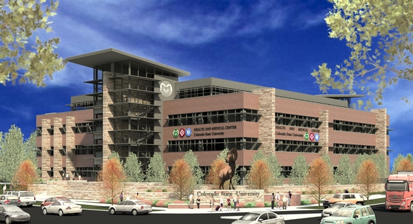 Proposed CSU Medical Center