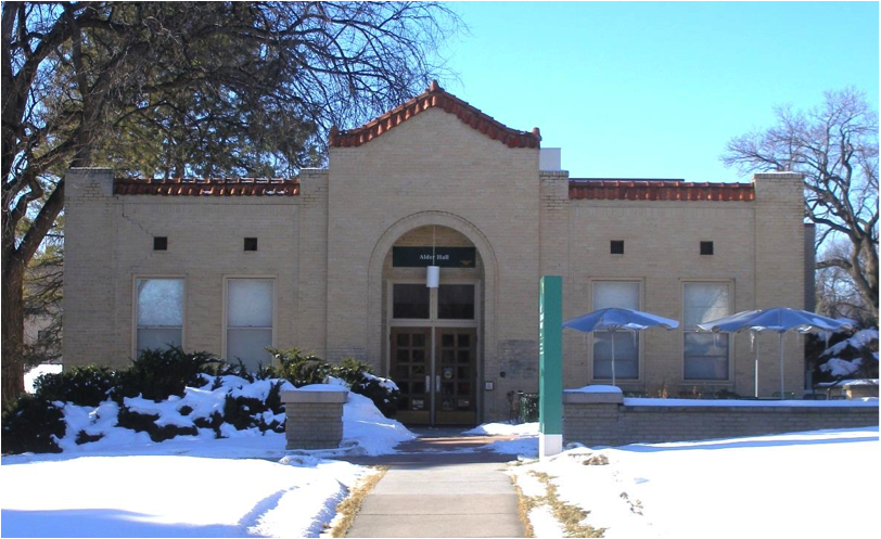 January 1, 2016 – Alder Hall: originally Botany Annex , later Co-op Units. (Photo by Dean R. Schachterle.)
