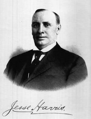Jesse Arthur Harris (photo from Find a Grave -- added by A. J. Tyson)