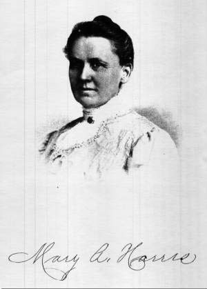 Mary Harris (photo from the Fort Collins Archive #Harris_Mar)