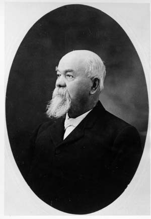 Andrew Armstrong around 1900. (From the Fort Collins Archive - #H01448A.)