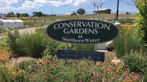 The Conservation Gardens at Northern Water.