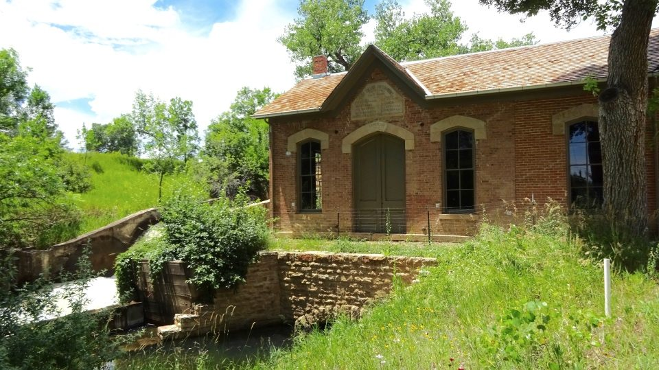 The original Fort Collins Water Works was in operation from 1882 - 1916.
