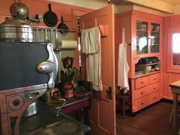 The kitchen at Fairkytes appears to look much today like it must have back when Norman and Maude were here.