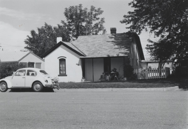This County Assessor photo of the house at 406 Stover was taken in 1976. (FC Archive - #H11344)