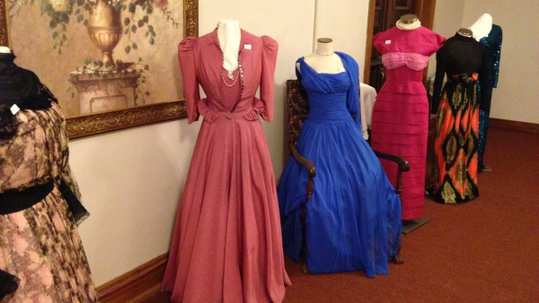 Vintage clothing will be on display.