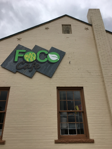 """FoCo Cafe"" stands for Feed Our Community Ourselves."