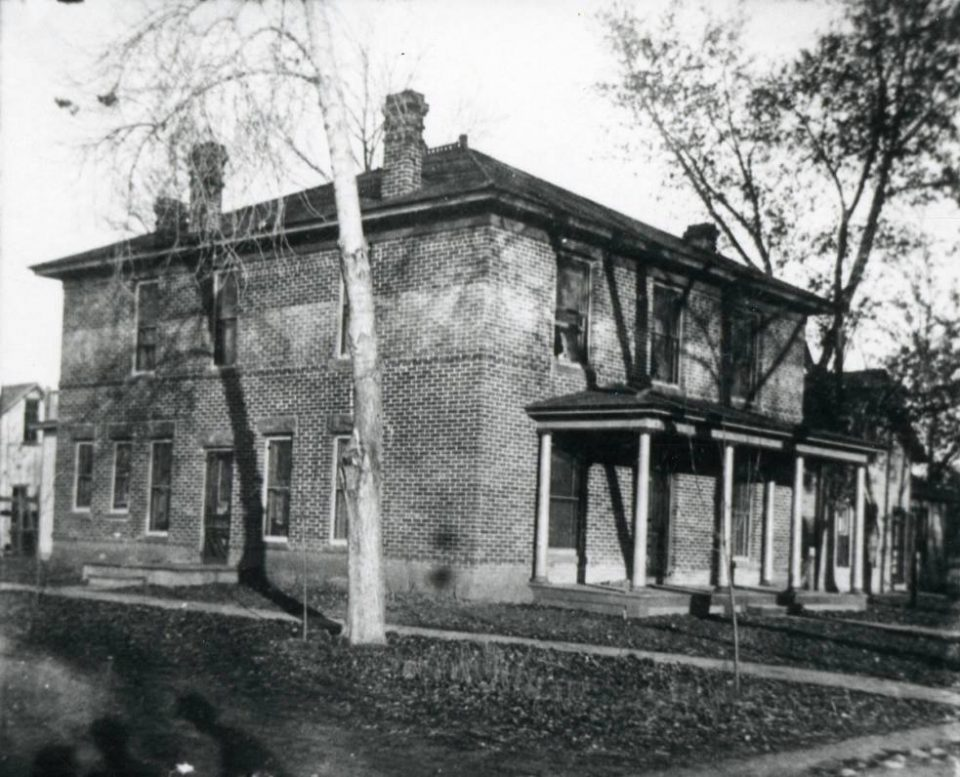 The Thomlin house at 331 S. Meldrum.