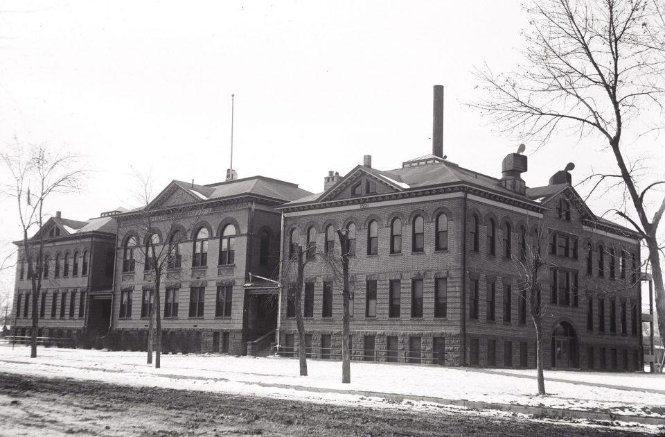 Exhibit 11 – Fort Collins Junior High School looked like this in 1927.