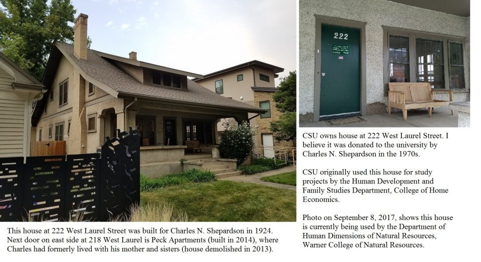 Exhibit 8 – House at 222 West Laurel Street in Fort Collins